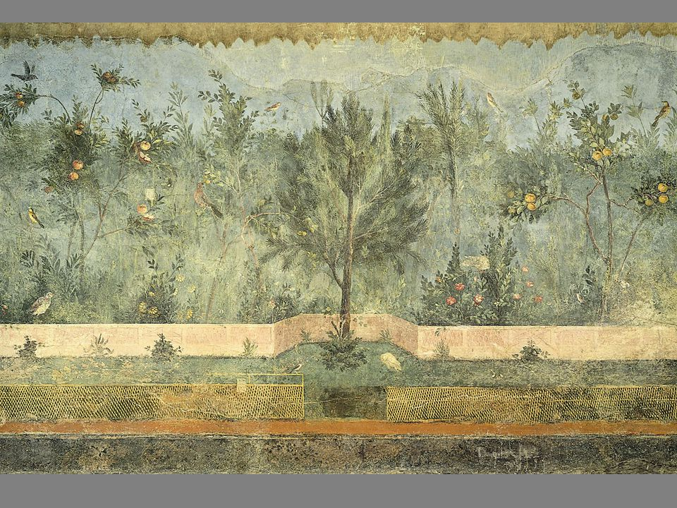 [Image 4.9] View of the Garden from the villa of Livia and Augustus